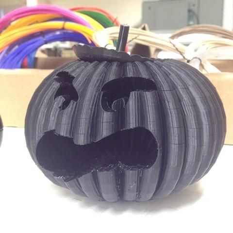 pumpkin_display_large.jpg Download free STL file #halloween #pumpkin #MakerEdChallenge • Model to 3D print, Pwenyrr