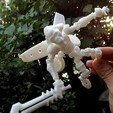 Download free 3D printer model Gorilla Jet Flight Ares, Pwenyrr