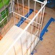 Download free 3D printer files Sliding Trash Bin Replacement Rails, Pwenyrr