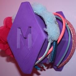 Download free 3D printing designs Headband Holder, Pwenyrr
