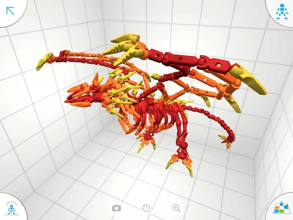 D3_display_large.jpg Download free STL file Flame Dragon • 3D print model, Pwenyrr