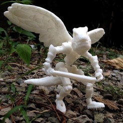 Free 3D printer designs Tyrannosaurus fighter, Pwenyrr