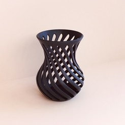 3D printer models Vase, Webshocker