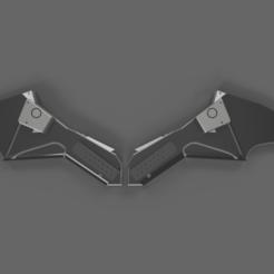 thebatmanCover.png Télécharger fichier STL Le logo emblématique de la poitrine de Batman Cosplay • Plan à imprimer en 3D, M-Bot