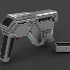 R-AI3L.png Download STL file Concept Series: Model R-AI3L Fantasy Futuristic Pistol • Design to 3D print, M-Bot