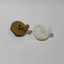 Download STL file gear lock koleos • 3D printing object, agustin356