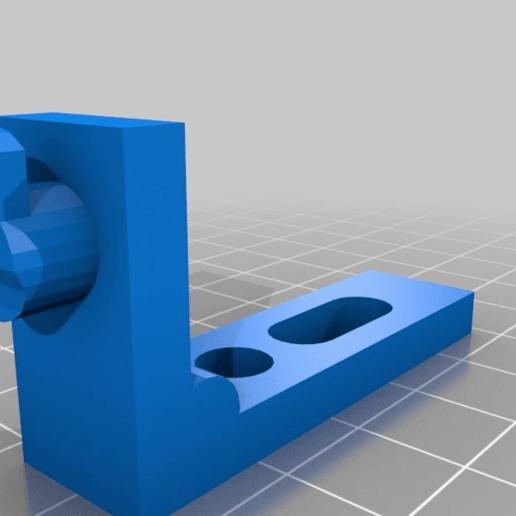 Download free 3D printer templates Rear panel connector, Interceptor