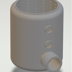 V2.jpg Download STL file Shower-Blower V2 • Model to 3D print, Interceptor
