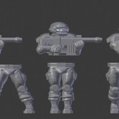 Descargar modelos 3D gratis Fuerza de Defensa Pública, BigMillerBro