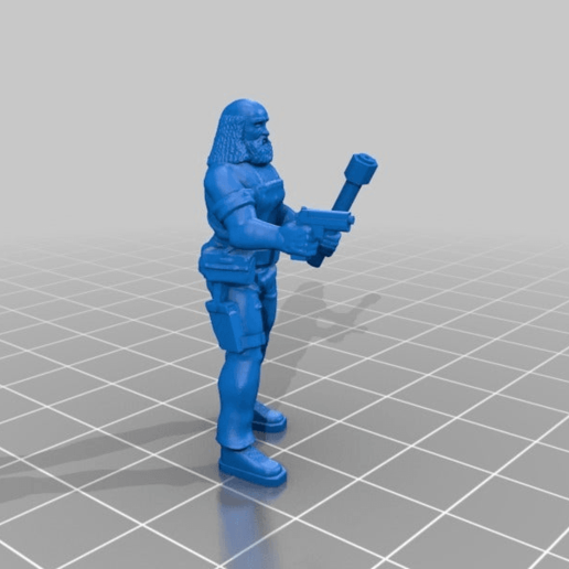 Download free 3D model Kid Holliday, BigMillerBro