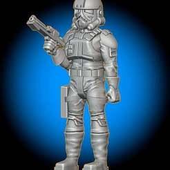 MechTrooperSize.jpg Download free STL file Mechanized Trooper • 3D print object, BigMillerBro