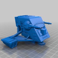 Descargar modelo 3D gratis INT-4 Mini Rig Star Wars Legion Scale, BigMillerBro
