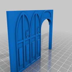 Descargar archivos 3D gratis Paredes góticas y tecnológicas del W.I.P., BigMillerBro