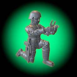 GroundCrewSample.jpg Download free STL file Freedom Fighter Ground Crew Tech • Object to 3D print, BigMillerBro