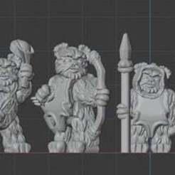 TeddyWarriors.jpg Télécharger fichier STL gratuit Les guerriers de l'ours en peluche • Plan imprimable en 3D, BigMillerBro