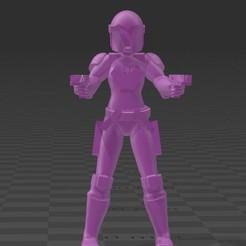 Descargar modelos 3D gratis Guerrero Mando, BigMillerBro