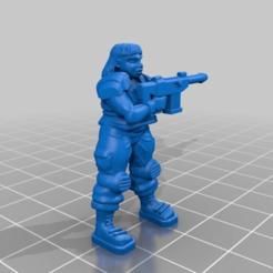 Descargar diseños 3D gratis Soldado 'Martha'., BigMillerBro