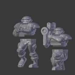 Descargar modelo 3D gratis Heroic Style PDF Trooper Heavy Weapons, BigMillerBro