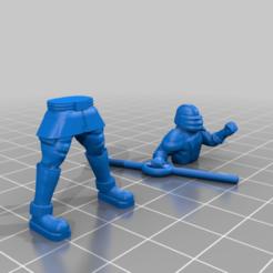 Impresiones 3D gratis Cazador de usuarios de la Fuerza, BigMillerBro
