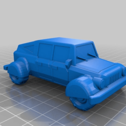 Download free 3D printing designs Small Buggy Car, BigMillerBro