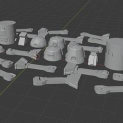 Descargar archivos STL gratis Astro Droid Builder, BigMillerBro