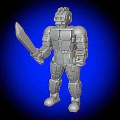 CombatBot.jpg Download free STL file Combat Bot • 3D printable model, BigMillerBro