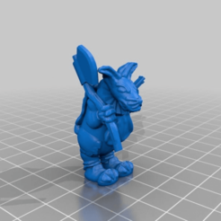 Download free 3D printer files Rabid Rabbit, BigMillerBro