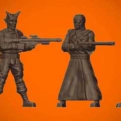 SeptemberDolls.jpg Download free STL file Freedom Fighters and Desert Dwellers • 3D printable object, BigMillerBro