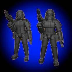 SwampTrooperDolls.jpg Download free STL file Swamp Trooper • Object to 3D print, BigMillerBro