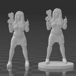 Télécharger modèle 3D gratuit Téléchargement promotionnel SciFi Princess Shaye, BigMillerBro