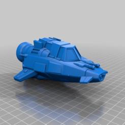 Impresiones 3D gratis Patrullero Skiff, BigMillerBro