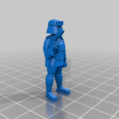 DictArmySizeDoll.png Download free STL file Dictator Army Trooper Size Sample • 3D printer template, BigMillerBro