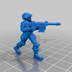 Descargar Modelos 3D para imprimir gratis Luchadores de Freedon, BigMillerBro