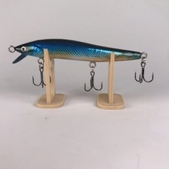 Free STL file fishing lure - minnow, Strangebait
