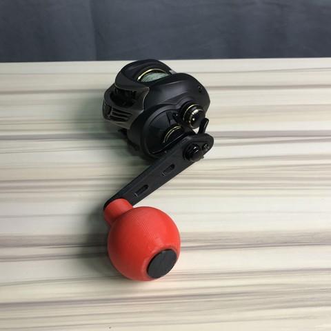 Impresiones 3D gratis Carretel de cebo - mango de potencia, Strangebait