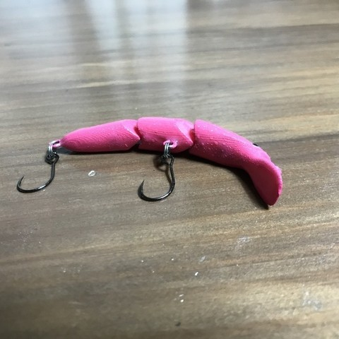 Free 3D model fishing Lure for rainbow Trout - joint minnow, Strangebait