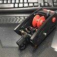 3D print model Pond smelt Automatic reel, Strangebait