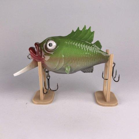 Free STL file fishing lure - crank bait v3, Strangebait