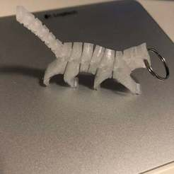 Descargar diseños 3D FlexiCAT_KEYChain, CB3DMAKER