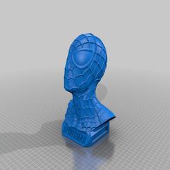 Descargar modelos 3D Busto del Hombre Araña, CB3DMAKER