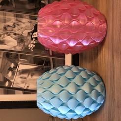 IMG_1705.jpg Download STL file Vase Lamp wavy • 3D printing template, CB3DMAKER