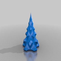 xmas_tree_HOLELAMP300.png Download STL file XMAS TREE • Design to 3D print, CB3DMAKER