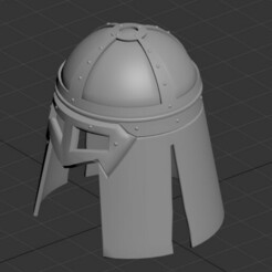 Helmet1.jpg Download STL file Viking Helmet • 3D print object, burghandrei