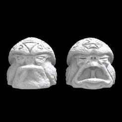 Olmecantli_HeadToad_x4.jpg Download free STL file SAURIAN OLMECANTLI HEADTOAD • Design to 3D print, Ge32