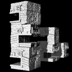 ge32-ajz-totem-serpent-10.jpg Download free STL file Saurian Snake Statue • 3D print object, Ge32