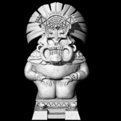 ge32-ajz-frog-statue-27.jpg Download free STL file Saurian Frog Statue • 3D print object, Ge32