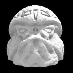 Olmecantli HeadToad 01.jpg Download STL file Saurian Olmecantli HeadToad 01 • 3D print template, Ge32