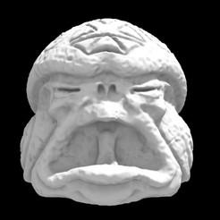 Olmecantli HeadToad 03.jpg Download STL file SAURIAN OLMECANTLI HEADTOAD 03 • 3D print model, Ge32