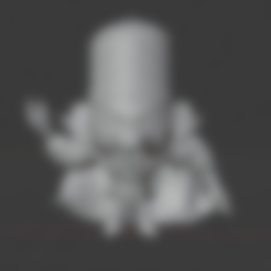 Download free OBJ file Mojo jojo • 3D printer template, hiddenart8