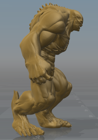 Captura1.PNG Download free STL file Abomination • 3D printing object, hiddenart8